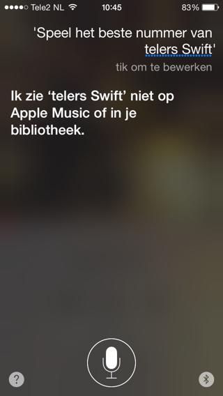 Siri-telers-Swift