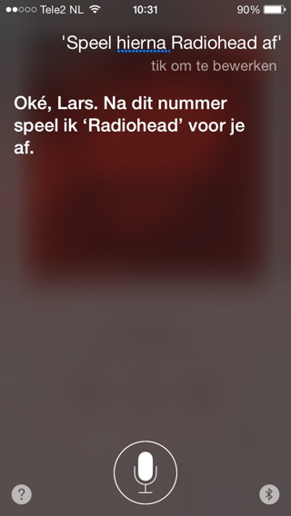 Siri-Speel-hierna
