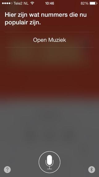 Siri-Populaire-muziek