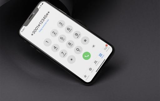 Field Test op een iPhone