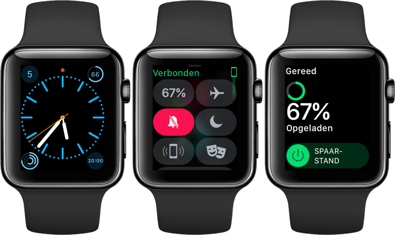 Apple Watch spaarstand