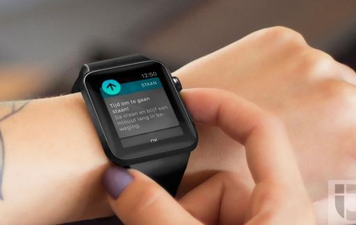 Staan-notificatie op de Apple Watch