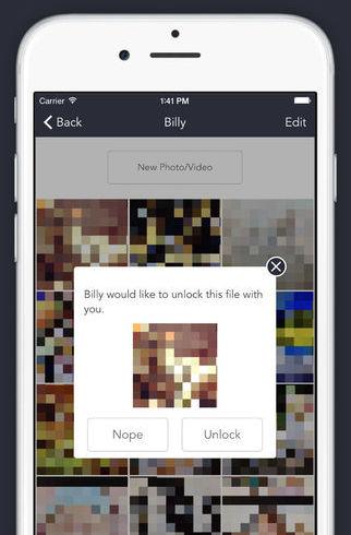 DoubleLock iPhone foto versleutelen