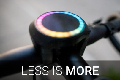 SmartHalo iPhone fiets