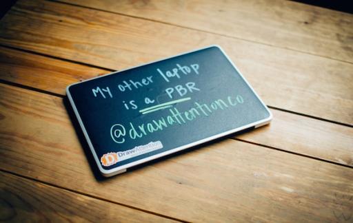 MacBook krijtbord