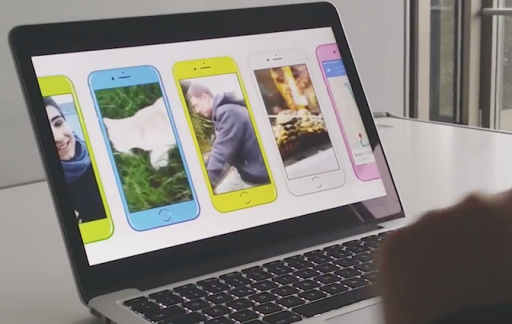 iPhone 6s kleuren concept