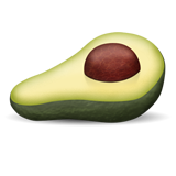 Emoji avocado