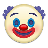 Emoji clown