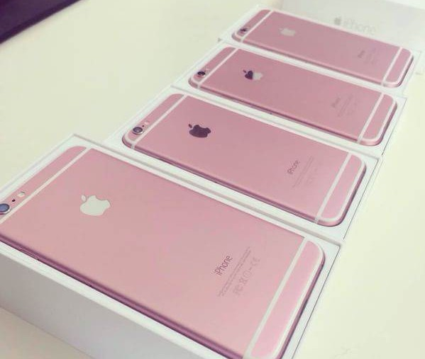 iPhone 6s roze 1