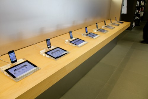 Apple Store smartsign