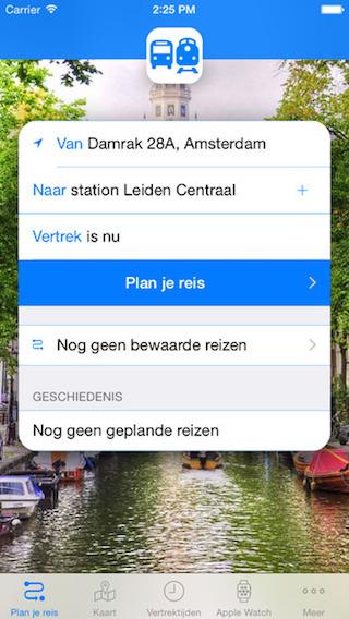 Bus & Trein nieuwe planner