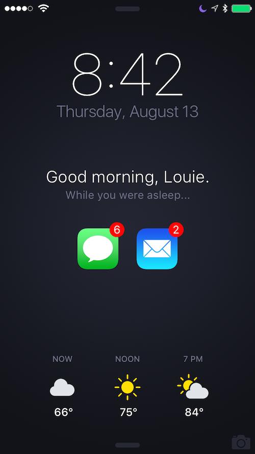 iPhone ontgrendelscherm Mantia 2015