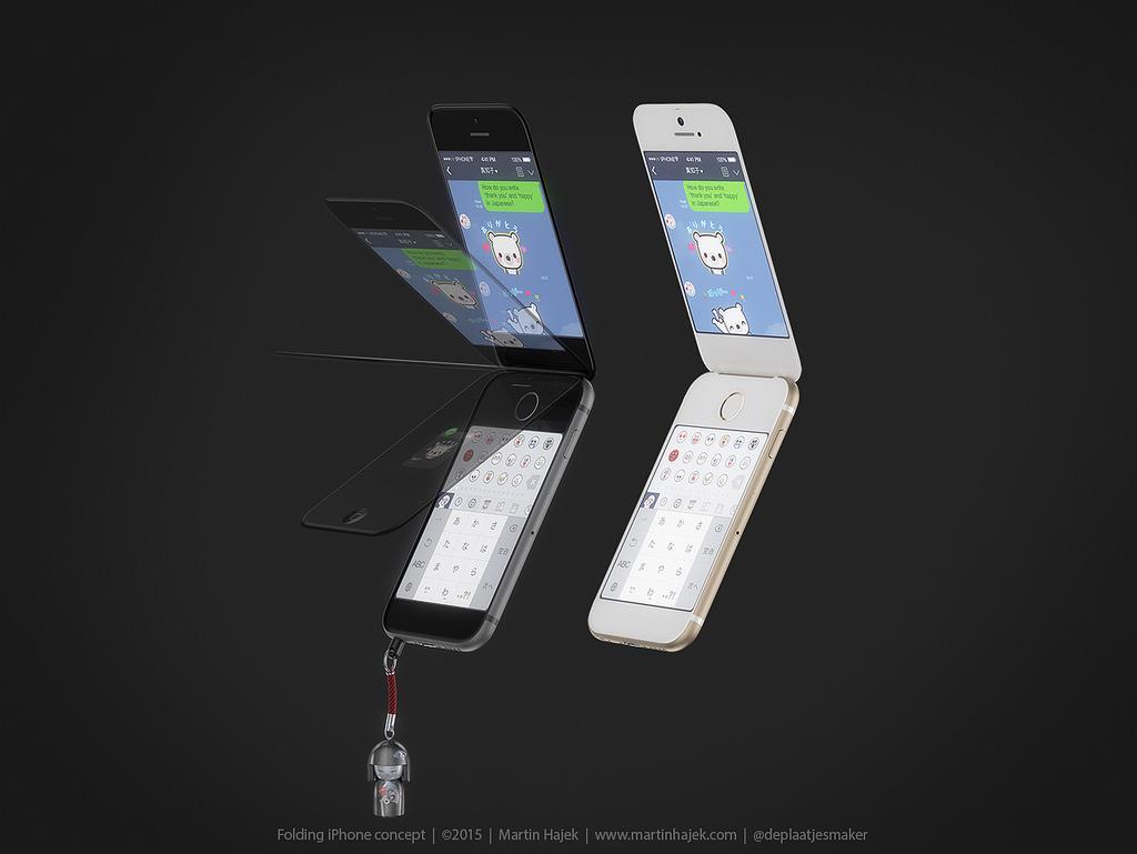 iPhone-flip-phone