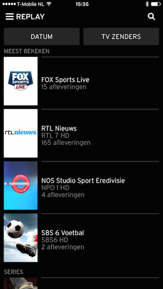 Ziggo TV Replay 1