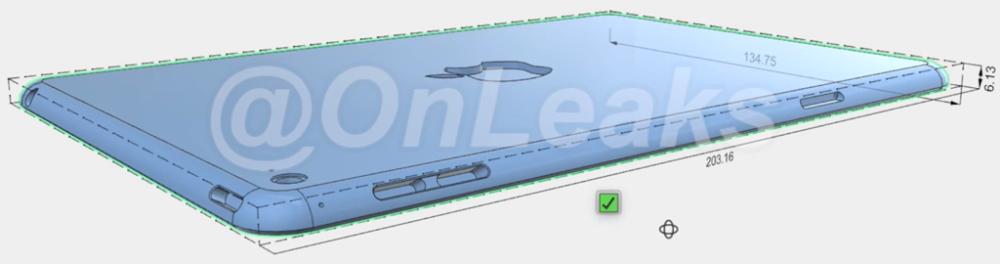 iPad mini 4 CAD afbeelding