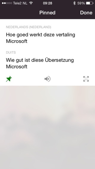 Translator-iPhone-app