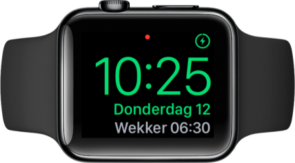 Apple Watch met Nachtklokmodus.