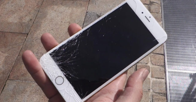 Fonkelnieuw Gebarsten iPhone-scherm automatisch herkend dankzij nieuw patent OF-15