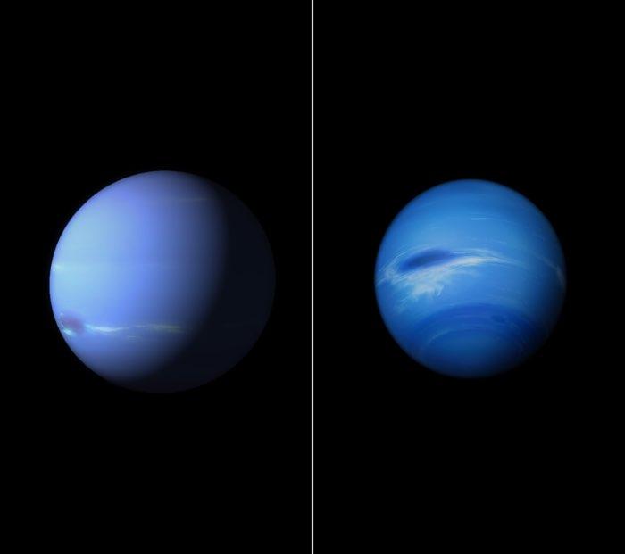iOS 9.1 wallpaper blauwe planeet