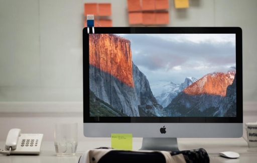El Capitan wallpaper op iMac