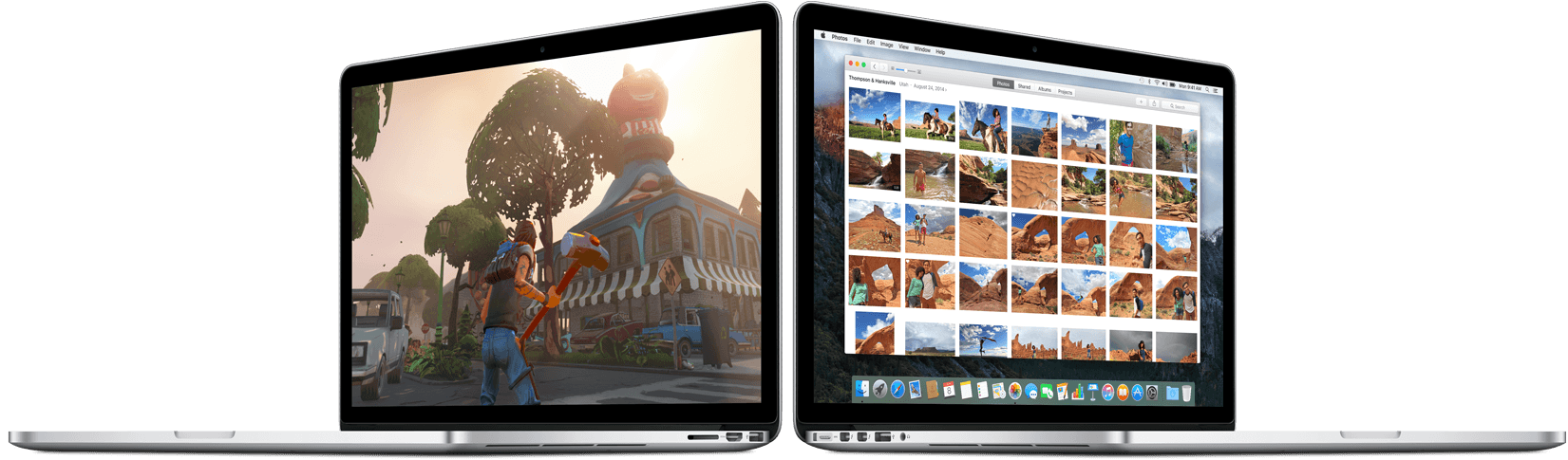 OS X El Capitan op MacBooks.