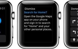 Google Watch op de Apple Watch