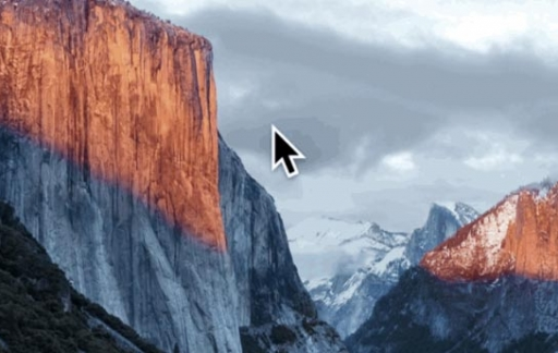 Cursor in El Capitan