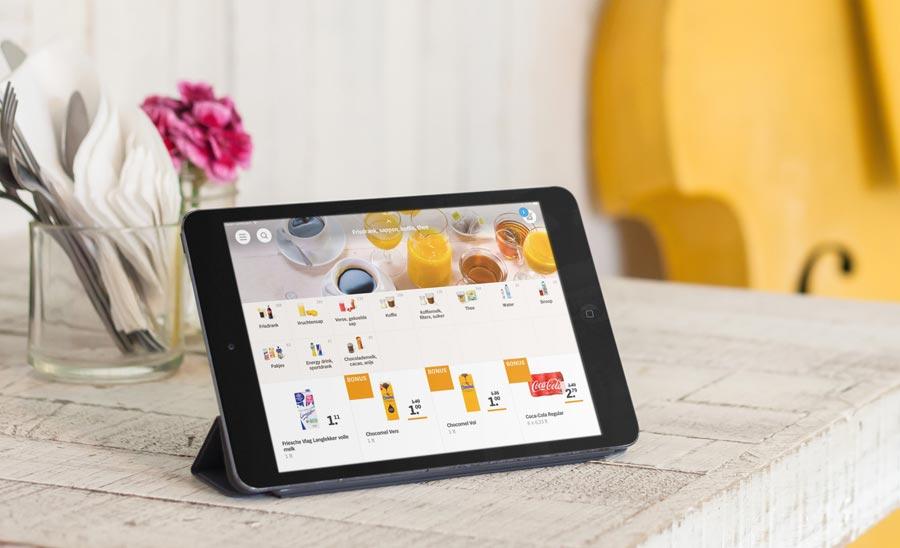 Appie boodschappen-app nu op iPad