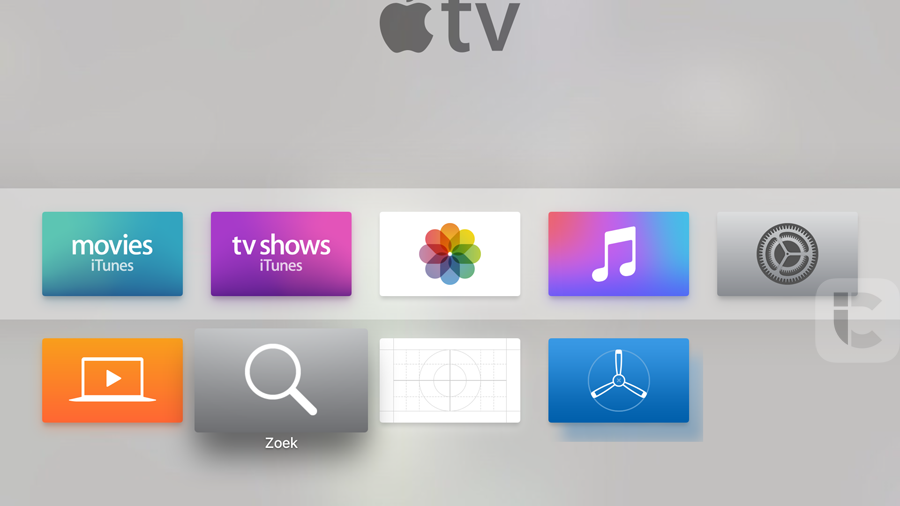Apple TV 4: universeel zoeken