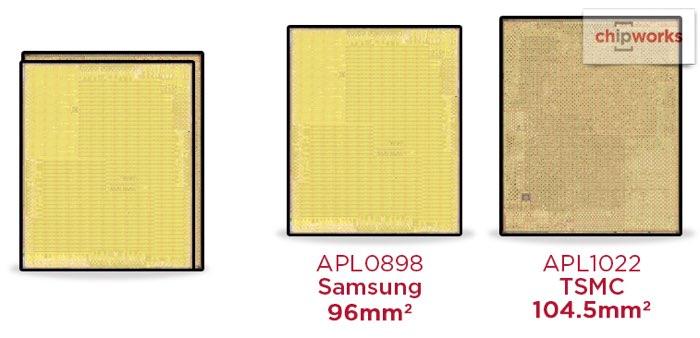 A9 chip in 2 varianten