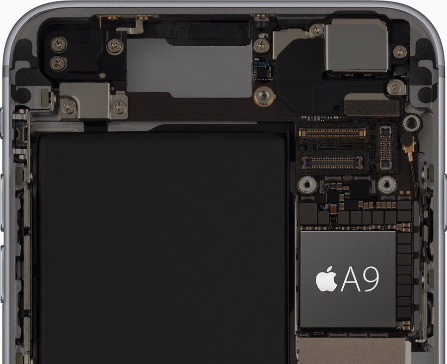 A9 processor op iPhone 6s.