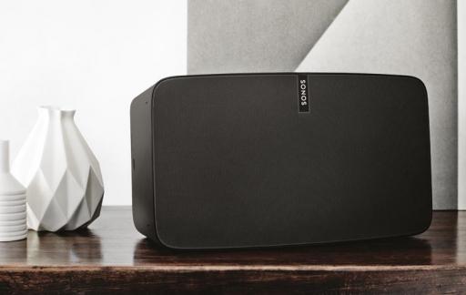 Sonos PLAY:5 in de woonkamer
