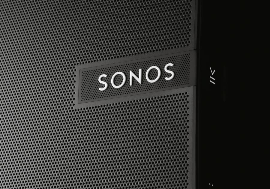 Sonos PLAY:5 met gaatjespatroon