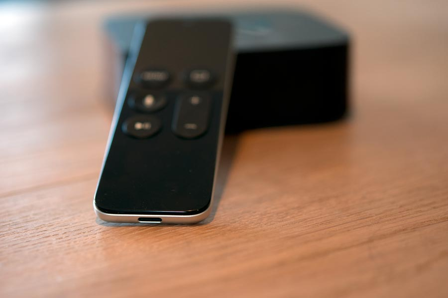 Afstandsbediening met Lightning-poort Apple TV 4.
