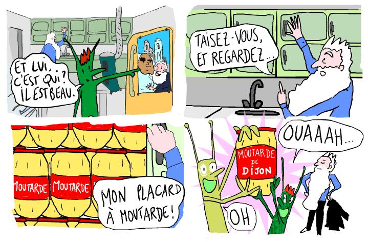 Frantastique stripverhaal in Franse les.