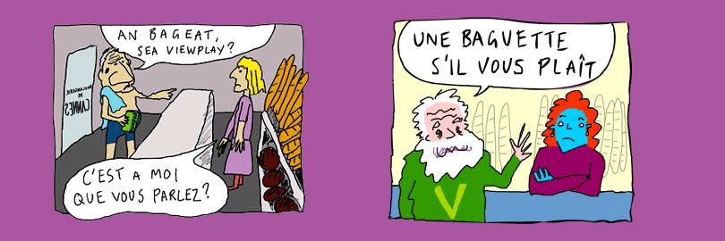 Een stripverhaal in Frantastique