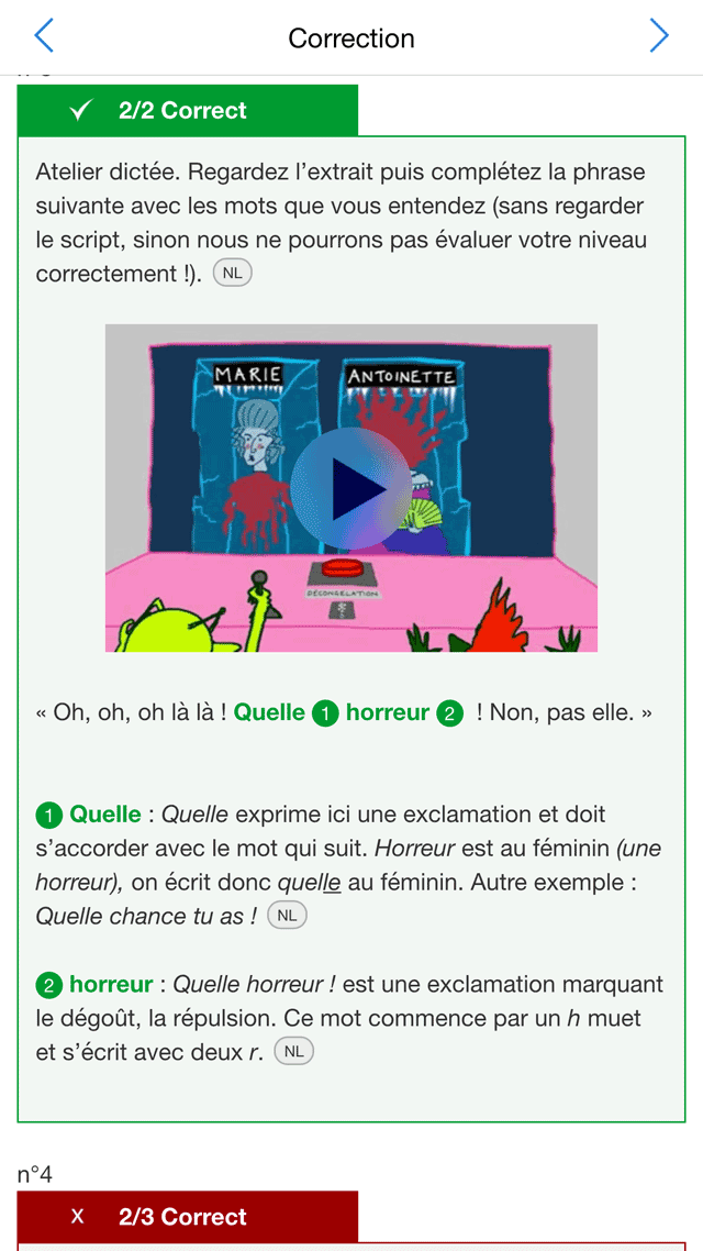 Frantastique: een Franse les met filmpje en uitleg.