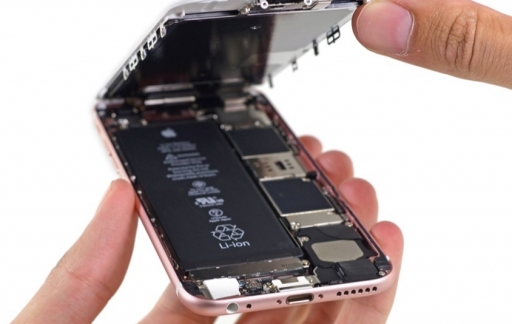 iPhone 6s teardown.