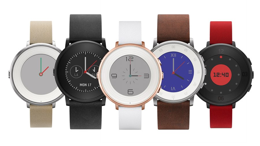 Pebble Time Round kleuren