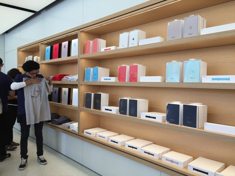 Apple Company Store interieur.