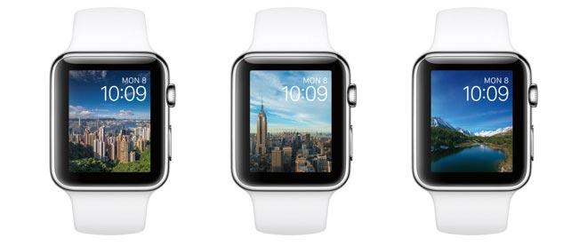 Timelapse op Apple Watch.