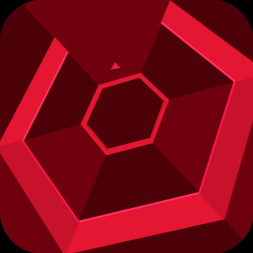 Super Hexagon icoon.