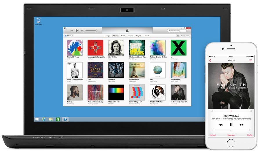 Foto's importeren in iTunes voor Windows