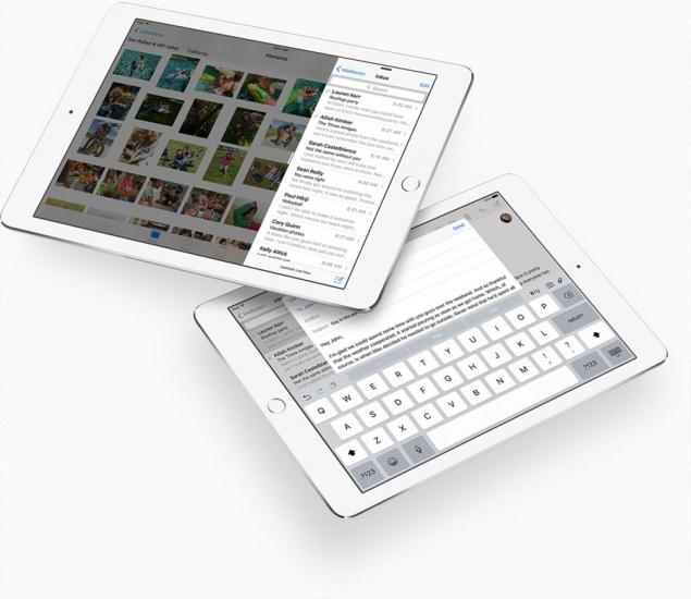 Mail-app op de iPad Pro met iOS 9.