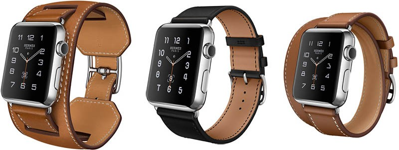 Apple Watch Hermes collectie: horlogebandjes in 3 uitvoeringen.