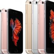 iPhone 6s en iPhone 6s Plus naast elkaar.