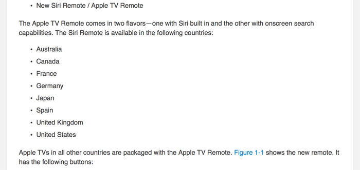 Apple TV Remote = Siri Remote.