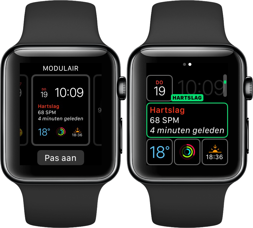 Apple Watch Complicaties instellen