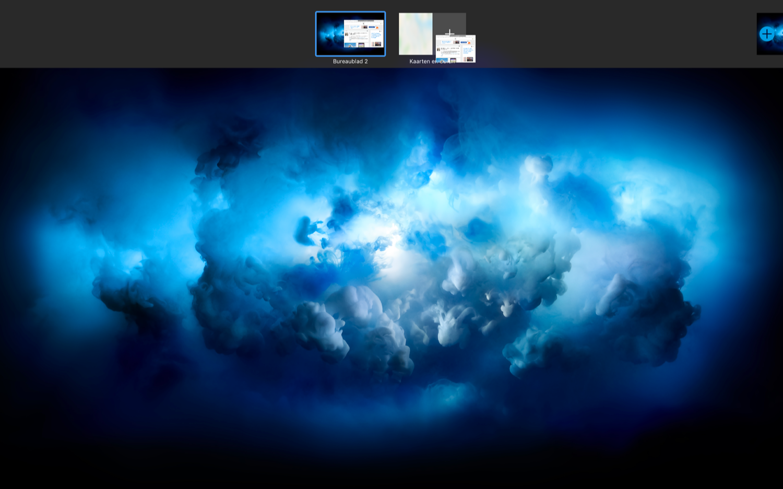 Split View op de Mac toevoegen.