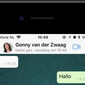 Laatst gezien-status in WhatsApp voor iPhone uitschakelen